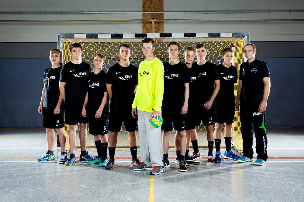 A-Jugend männlich der HSV Müncheberg / Buckow