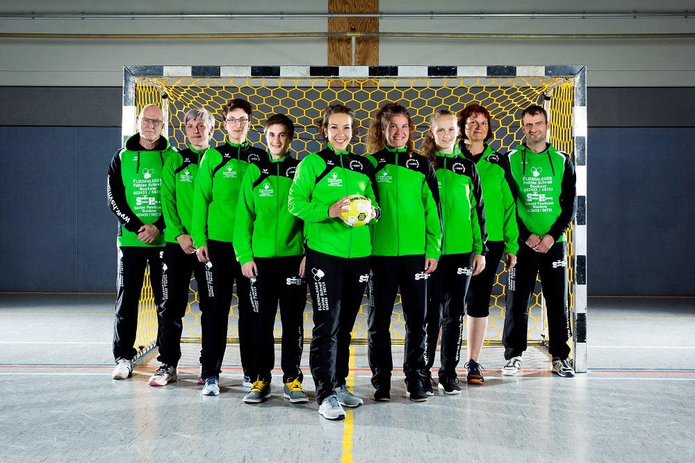 Die Frauenmannschaft der HSV Müncheberg / Buckow