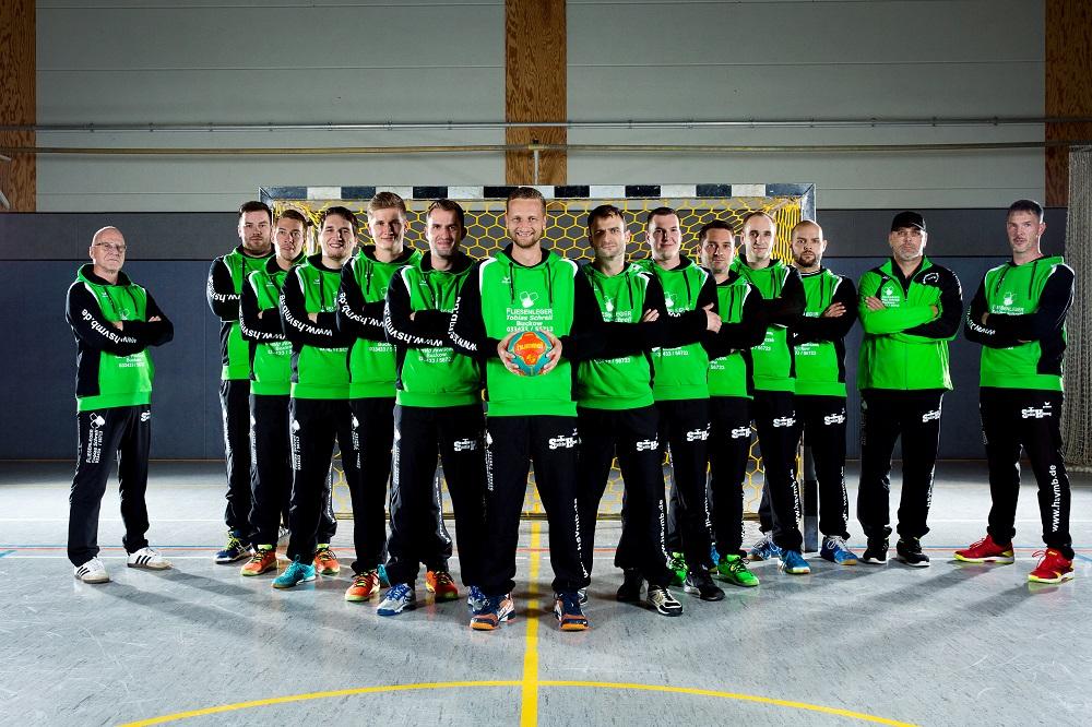 Die Männermannschaft der HSV Müncheberg / Buckow