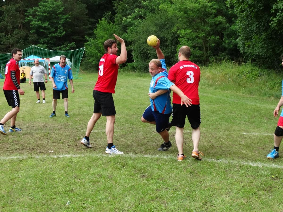 Handballturnier 2018 in Buckow